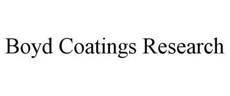 BOYD COATINGS RESEARCH