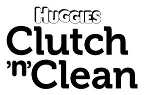 HUGGIES CLUTCH 'N' CLEAN