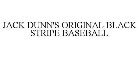 JACK DUNN'S ORIGINAL BLACK STRIPE BASEBALL