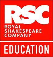 RSC ROYAL SHAKESPEARE COMPANY EDUCATION