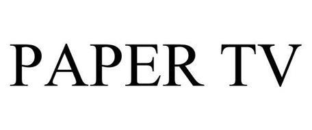 PAPER TV