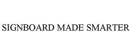 SIGNBOARD MADE SMARTER