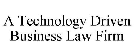 A TECHNOLOGY DRIVEN BUSINESS LAW FIRM
