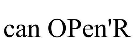 CAN OPEN'R