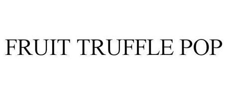 FRUIT TRUFFLE POP