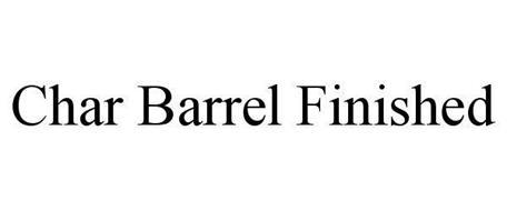 CHAR BARREL FINISHED