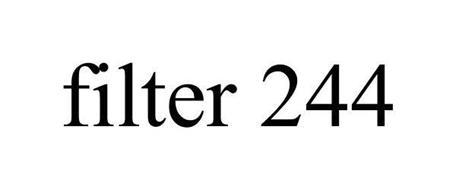 FILTER 244