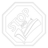 STOP AND