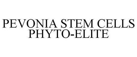 PEVONIA STEM CELLS PHYTO-ELITE