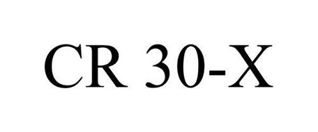CR 30-X