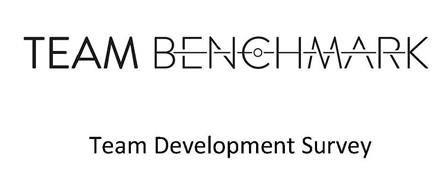 TEAM BENCHMARK TEAM DEVELOPMENT SURVEY