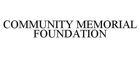 COMMUNITY MEMORIAL FOUNDATION