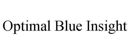 OPTIMAL BLUE INSIGHT