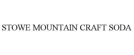 STOWE MOUNTAIN CRAFT SODA