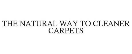 THE NATURAL WAY TO CLEANER CARPETS