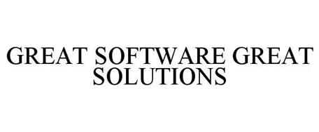 GREAT SOFTWARE GREAT SOLUTIONS