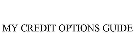 MY CREDIT OPTIONS GUIDE