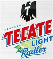 T CERVEZA TECATE LIGHT RADLER