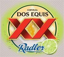 CERVEZA DOS EQUIS XX RADLER