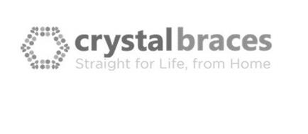CRYSTAL BRACES STRAIGHT FOR LIFE FROM HOME