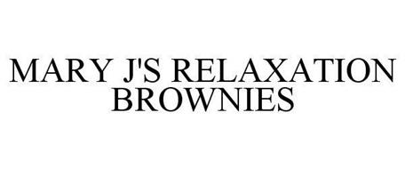 MARY J'S RELAXATION BROWNIES