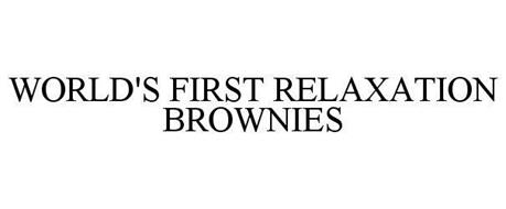 WORLD'S FIRST RELAXATION BROWNIES