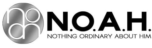 NOAH N.O.A.H. NOTHING ORDINARY ABOUT HIM