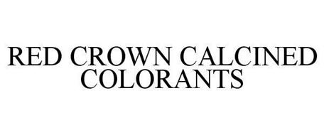 RED CROWN CALCINED COLORANTS