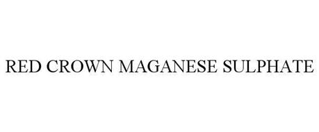 RED CROWN MANGANESE SULFATE