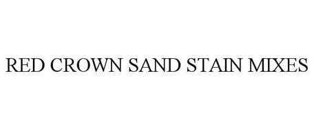 RED CROWN SAND STAIN MIXES