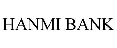 HANMI BANK Trademark of Hanmi Bank Serial Number: 86213366