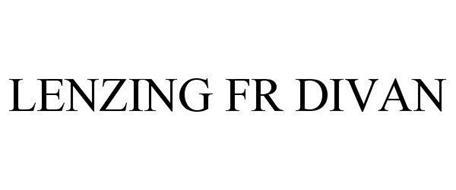 LENZING FR DIVAN