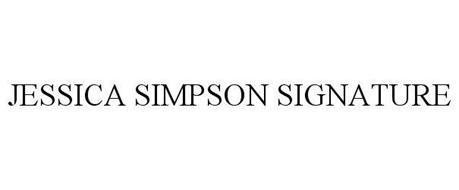 JESSICA SIMPSON SIGNATURE