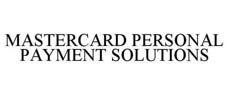 MASTERCARD PERSONAL PAYMENT SOLUTIONS