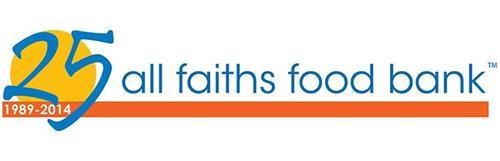 25 1989-2014 ALL FAITHS FOOD BANK