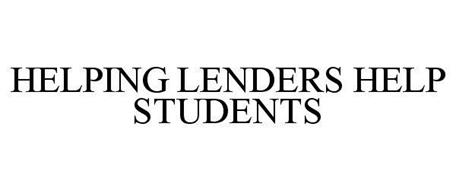 HELPING LENDERS HELP STUDENTS