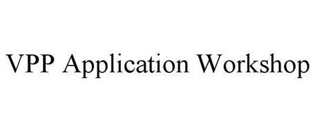 VPP APPLICATION WORKSHOP