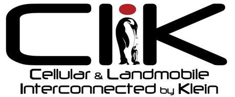 CLIK CELLULAR & LANDMOBILE INTERCONNECTED BY KLEIN