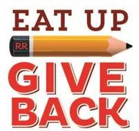 EAT UP RR GIVE BACK