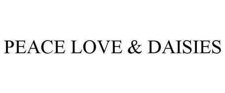 PEACE LOVE & DAISIES