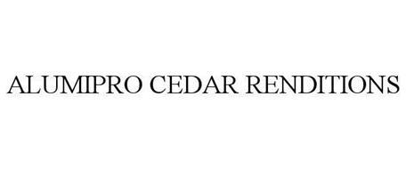 ALUMIPRO CEDAR RENDITIONS