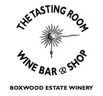 THE TASTING ROOM WINE BAR & SHOP BOXWOOD ESTATE WINERY