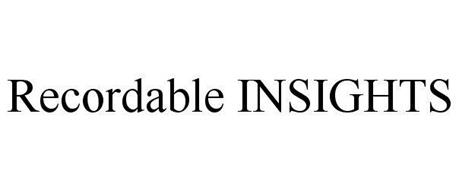 RECORDABLE INSIGHTS