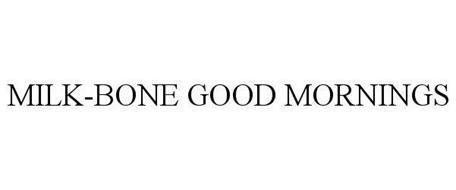 MILK-BONE GOOD MORNINGS