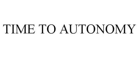 TIME TO AUTONOMY