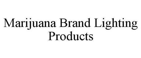 MARIJUANA BRAND LIGHTING PRODUCTS