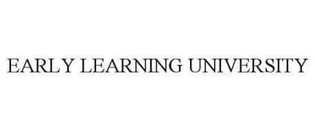 EARLY LEARNING UNIVERSITY
