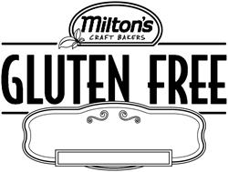 MILTON'S CRAFT BAKERS GLUTEN FREE