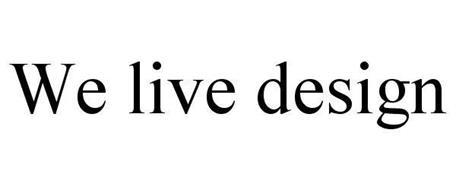 WE LIVE DESIGN
