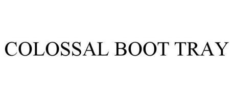 COLOSSAL BOOT TRAY